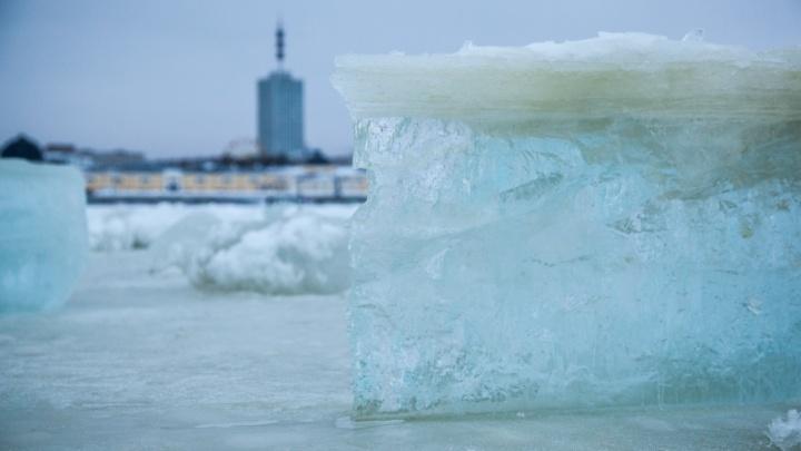 Лед на Двине начнёт таять в середине апреля