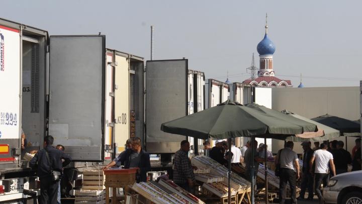 Полиция приехала искать мигрантов на Хилокском рынке