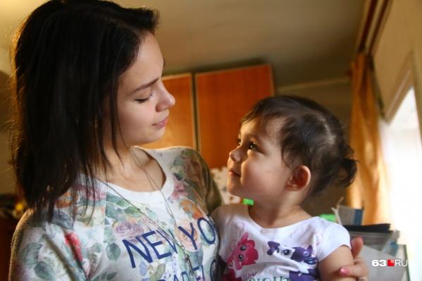 Сейчас дочери Саши, Аделине, два года