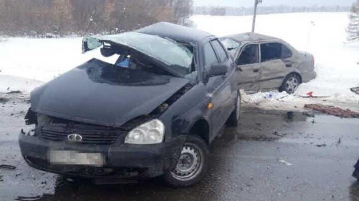 Три человека погибли в ДТП в Туймазинском районе Башкирии, среди них — супружеская пара