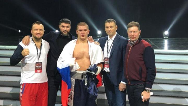 «Я сильно и не бил»: на турнире в Москве грузин отказался драться с волгоградским боксером