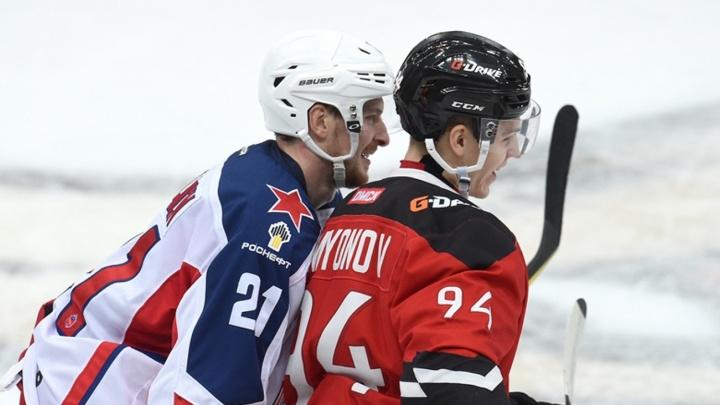 Выжил только один: ЦСКА прервал победную серию «Авангарда»
