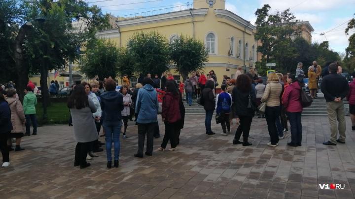 В Волгограде экстренно эвакуировали сотрудников Волгоградстата