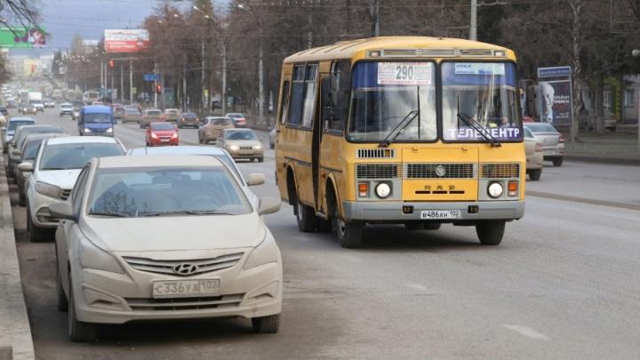 Автобусные страсти: в переполненной маршрутке на уфимку с кулаками напал мужчина