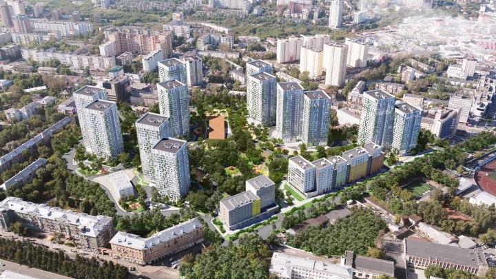 Молодые семьи выбирают жилой комплекс в центре города