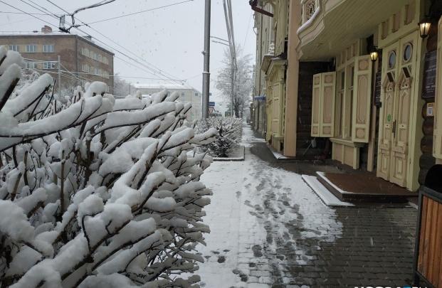 Красноярцев ждет необычайно теплая и снежная неделя