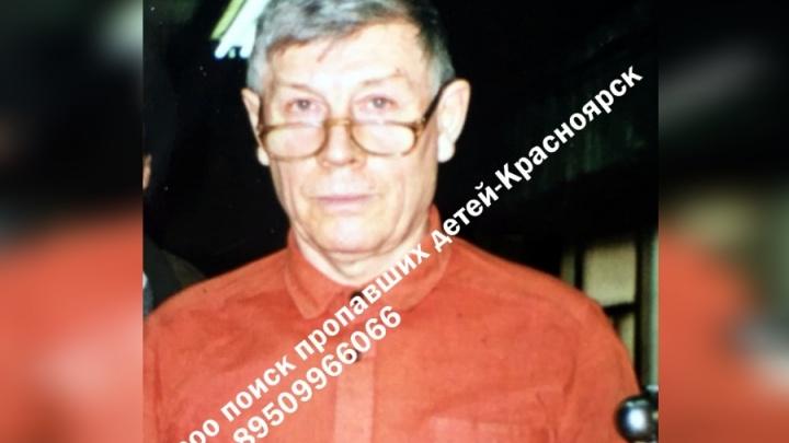 Пожилой грибник с потерей слуха вышел из дома в Красноярске и бесследно пропал
