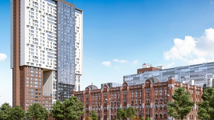Стартовали продажи видовых квартир от 2,3 млн рублей в уникальной новостройке в центре Екатеринбурга