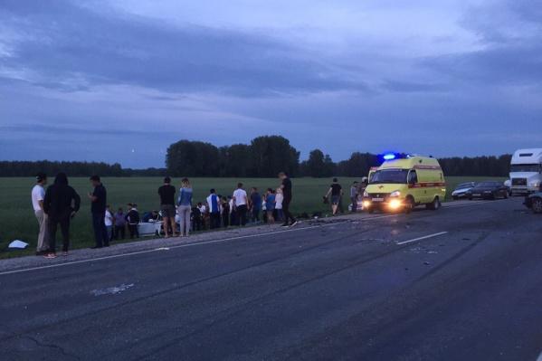 В аварии погиб водитель«Жигулей», ещё 6 человек получили травмы различной степени тяжести