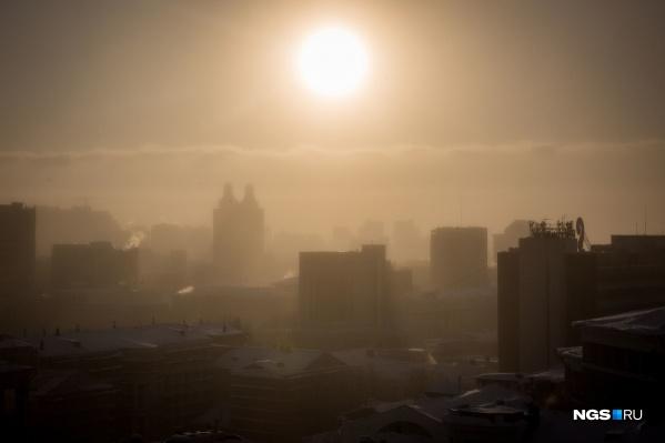 Из-за слабого ветра в атмосфере над городом накапливаются вредные примеси