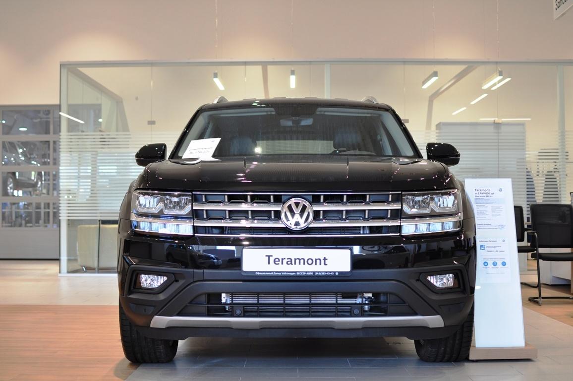 Volkswagen Teramont в «Регинас-Бессер»: финальная цена по телефону +7 (343) 312-23-55