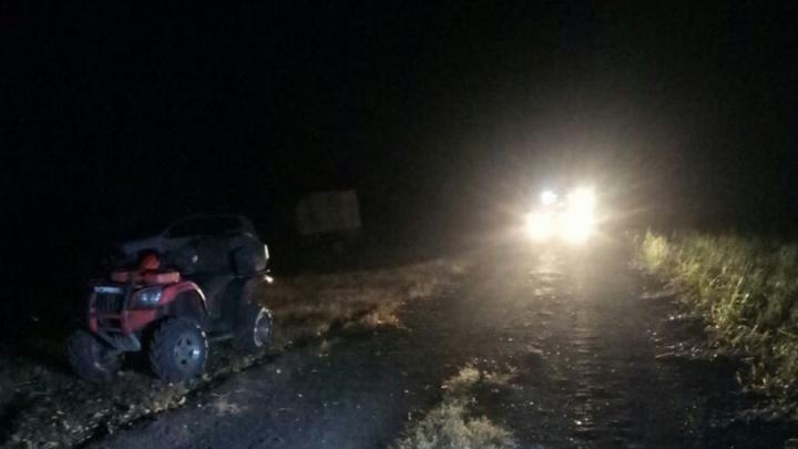 Ночью на башкирской дороге разбился водитель квадроцикла