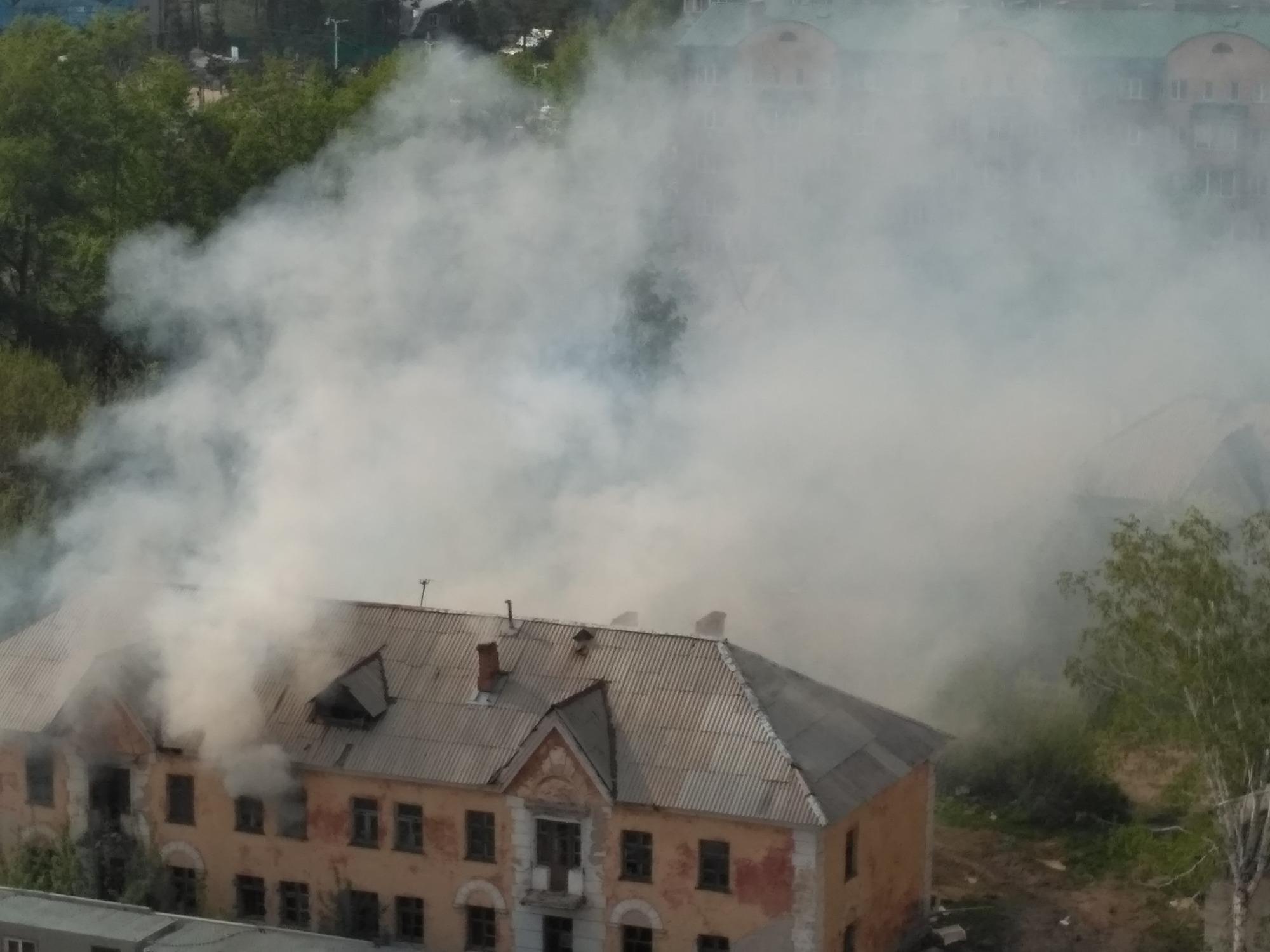 Точная причина пожара пока неизвестна