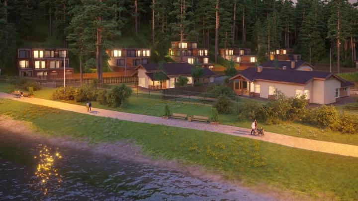 На Урале как в Крыму: в Кадниково появится живописный посёлок, созданный для счастливой жизни