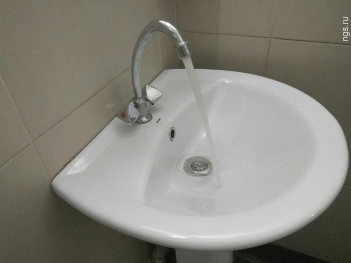 Холодную воду вСоветском районе Красноярска отключат ровно насутки