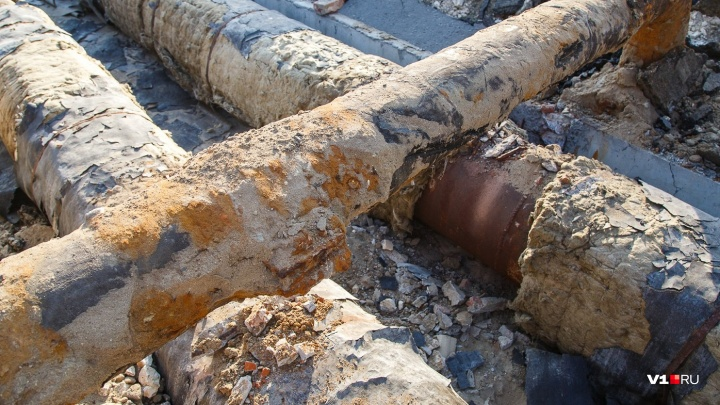 В Дзержинском районе Волгограда после месяца отключений вновь забрали горячую воду