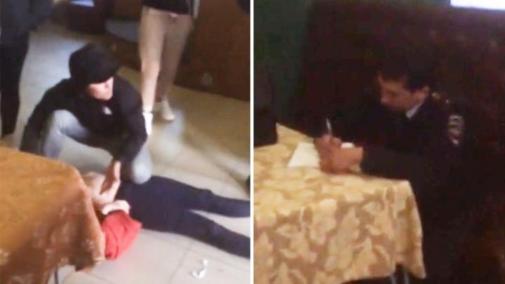 «Сидит, допрашивает спокойно»: в Башкирии сотрудника полиции обвинили в рукоприкладстве к девушке