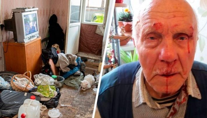 Мужчину, который избивал отца-инвалида из-за квартиры в Екатеринбурге, отправили в колонию