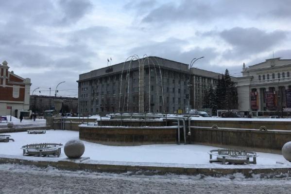 Световые фонтаны в трёх скверах Новосибирска запустят 1 декабря