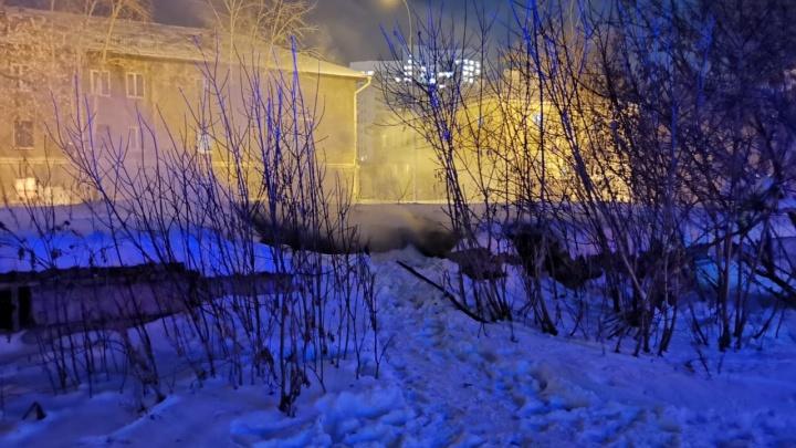 В Екатеринбурге бездомные устроили пожар в здании овощехранилища. Один из них погиб