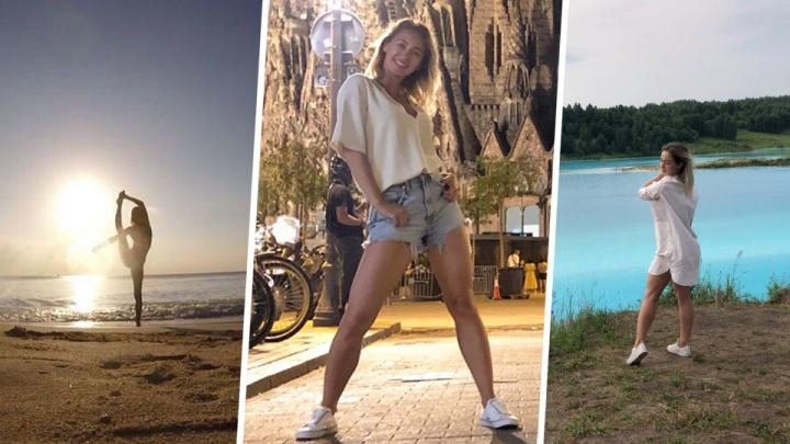 Остановиться невозможно: сибирячки танцуют в живописных местах— эти видео вы посмотрите не один раз