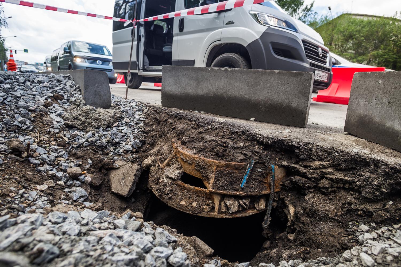 Ремонт тротуаров на ул. Немировича-Данченко