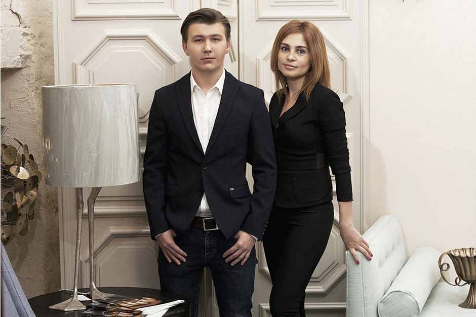 Дизайнеры Александр Зайцев и Екатерина Маркелова