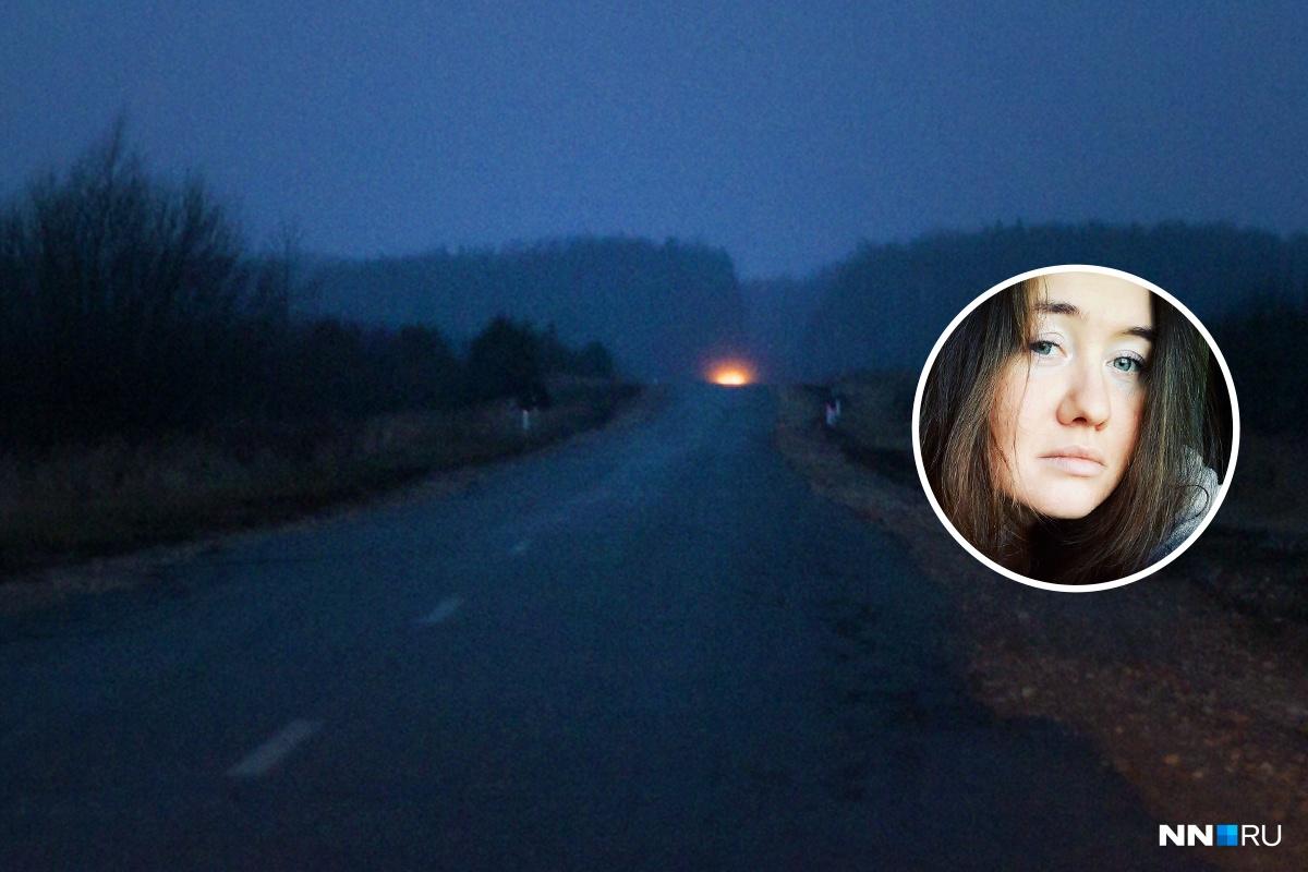 На темных осенних дорогах нужно быть особенно осторожными и водителям, и пешеходам