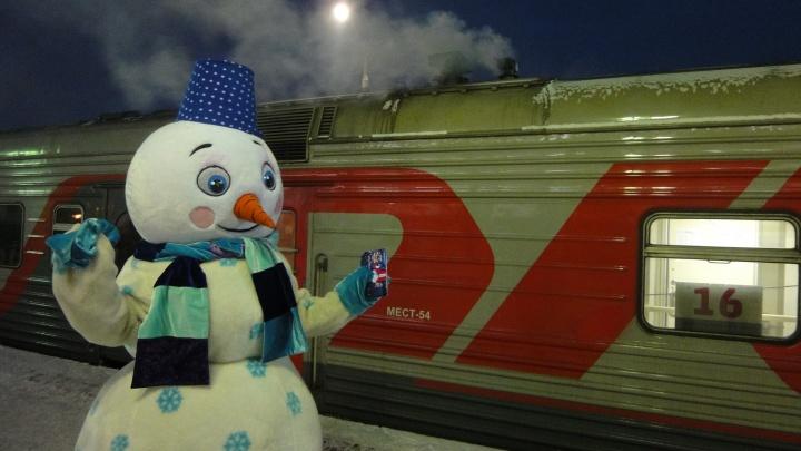 В столицу на Новый год: между Архангельском и Москвой в праздники пустят дополнительные поезда
