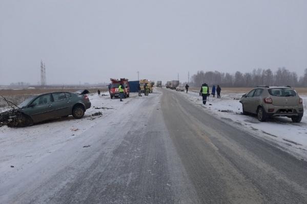 Челябинскую область накрыла непогода, и видимость в момент аварии могла быть плохой