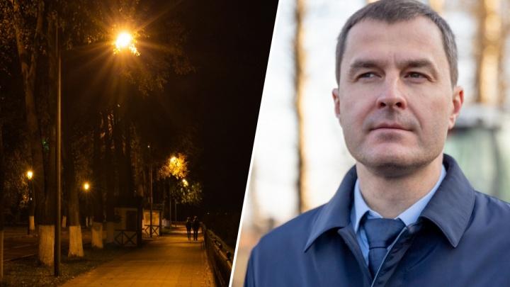 «Всё на соплях держится»: мэр Ярославля рассказал, почему в городе темно и когда это кончится