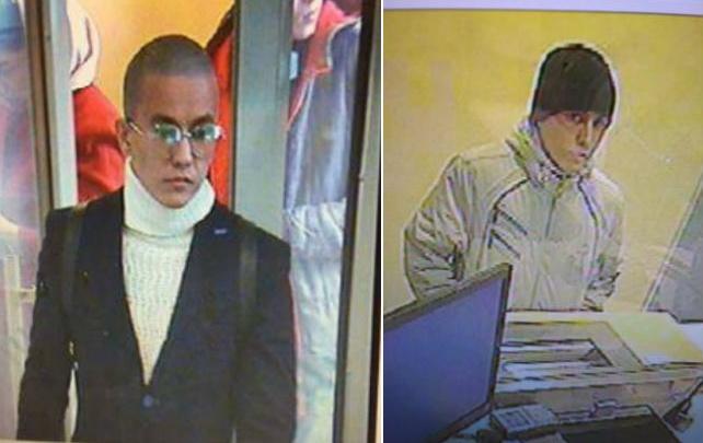 Их разыскивает полиция: в Уфе преступники дважды за сутки напали на банки