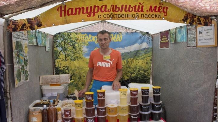 Возле ЦУМа откроется ярмарка: привезли мед свежего урожая