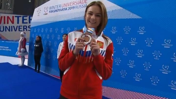 21-летняя студентка СибГУФК, представляющая Омскую область, завоевала бронзу на Универсиаде