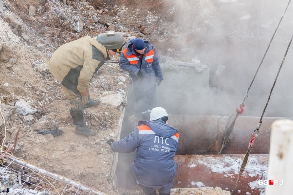 Энергетики просят сообщать о протечках аварийным бригадам