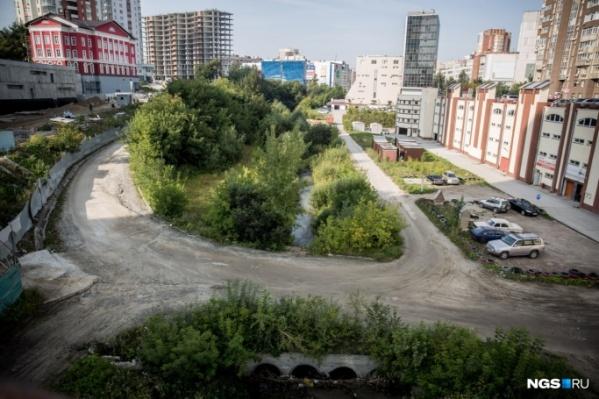 Мэр признал, что в центре Новосибирска не хватает зелёных зон