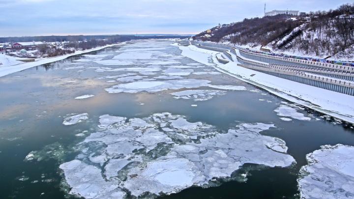 В Уфе автомобилистам запретили ездить по строящейся набережной реки Белой