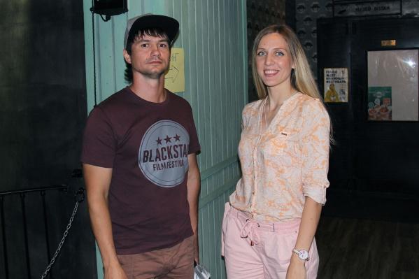 Евгений и Елена приехали на машине в Новосибирск из Абакана специально для кастинга