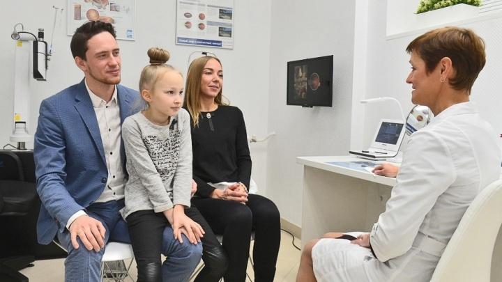 История одной семьи: как мама, папа и маленькая Арина решали проблемы со зрением