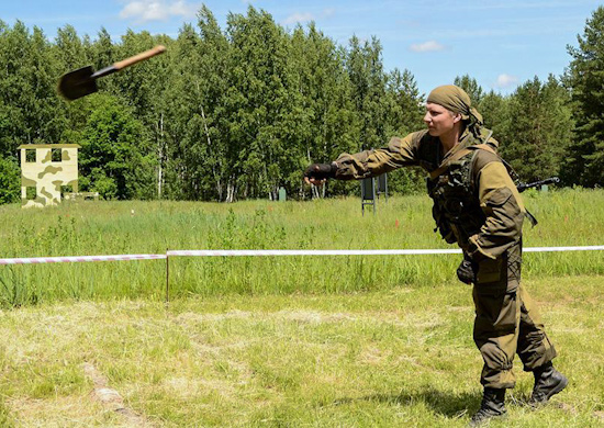 Разведчики из России лидируют по итогам четырёх этапов конкурса