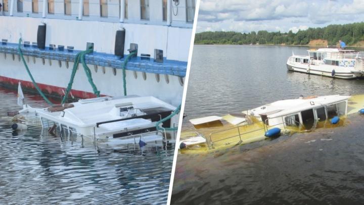 Следовавший из Самары теплоход «Алексей Толстой» столкнулся с яхтой в Ярославской области