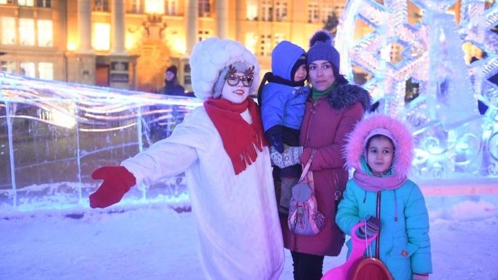 Катайтесь сколько хотите: ледовый городок Екатеринбурга не будут закрывать из-за оттепели