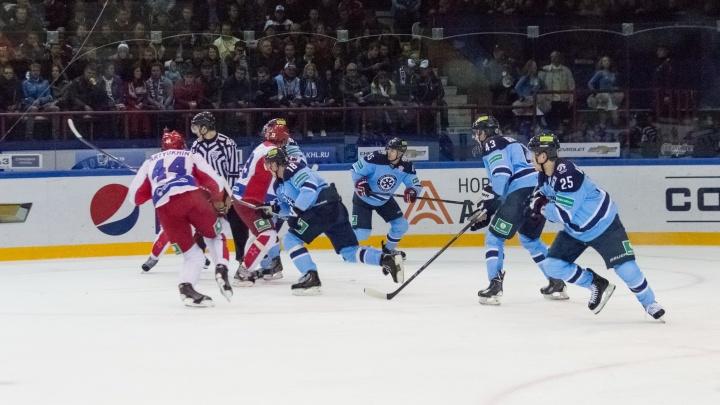 Хоккей: «Сибирь» начнёт новый сезон с игры с череповецкой «Северсталью»
