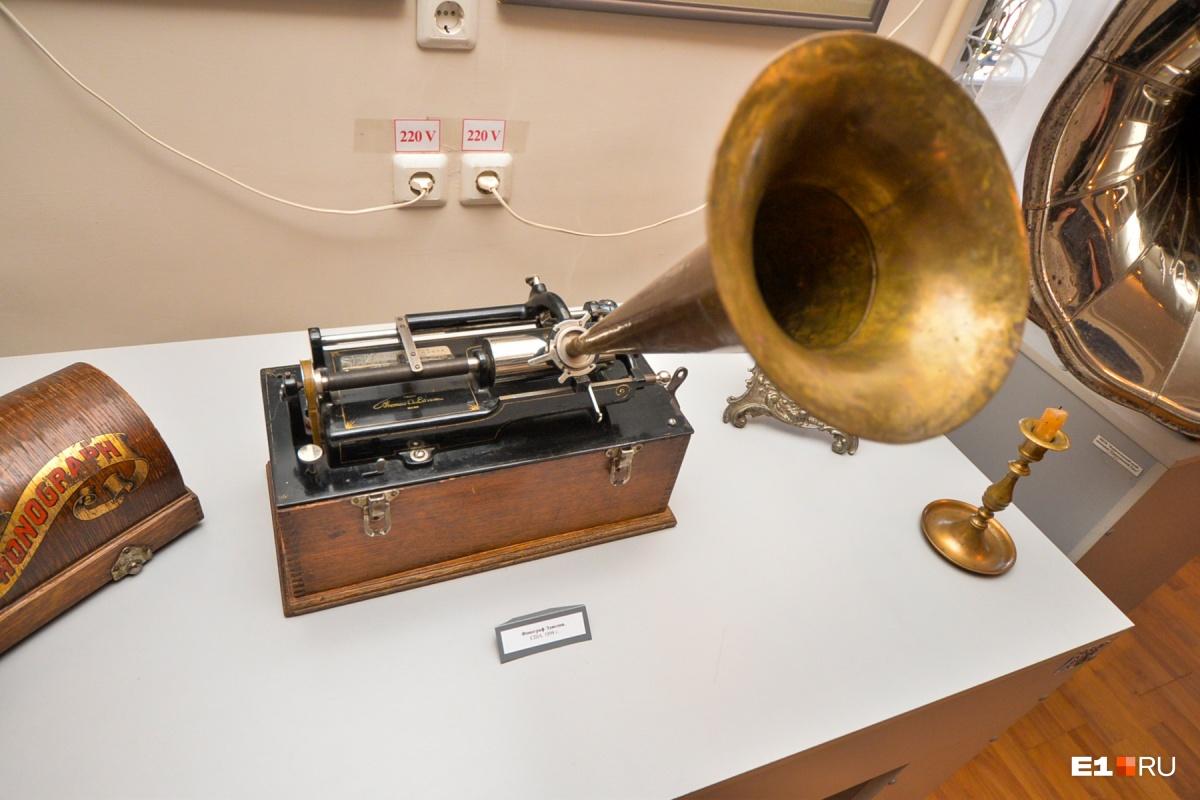 Фонограф Томаса Альвы Эдисона по-прежнему в состоянии записывать звуки