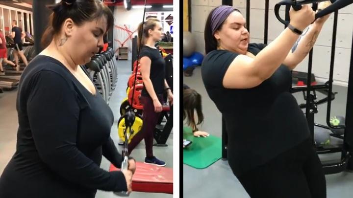 Уже заметно: худеющая на 72 килограмма ярославна сбросила треть от поставленной цели