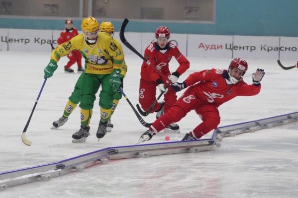 Это первое поражение «Водника» на чемпионате России среди команд Суперлиги