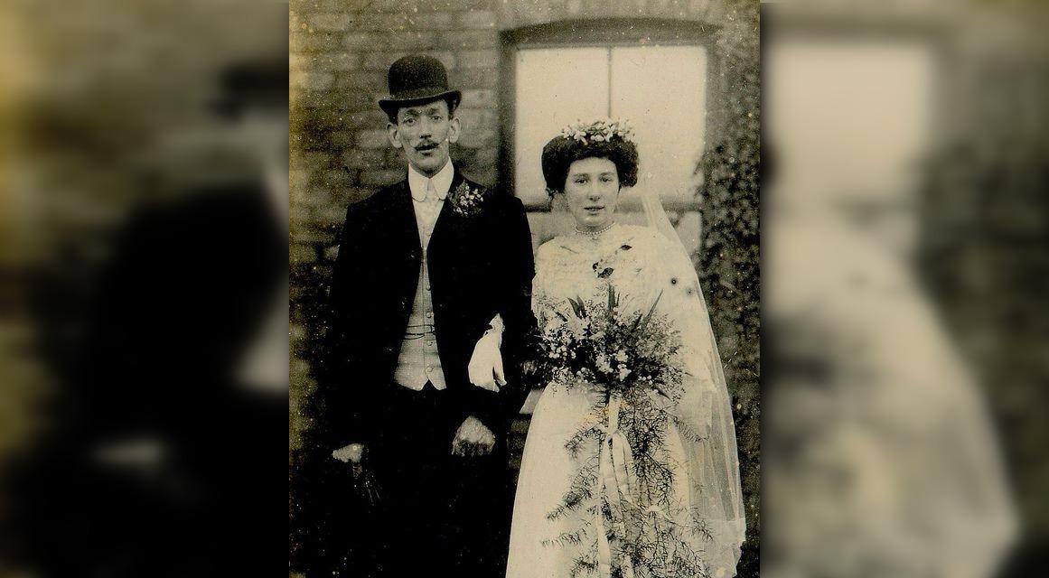 Свадьба Галы и Сальвадора в 1930-е годы