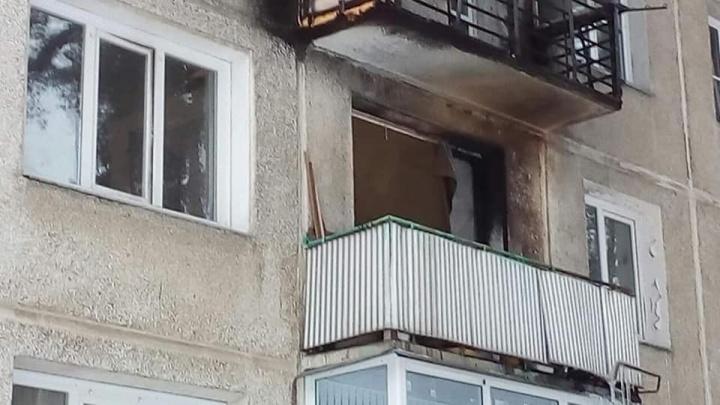 В Железногорске из-за попавшего на балкон фейерверка сгорела квартира пенсионерки