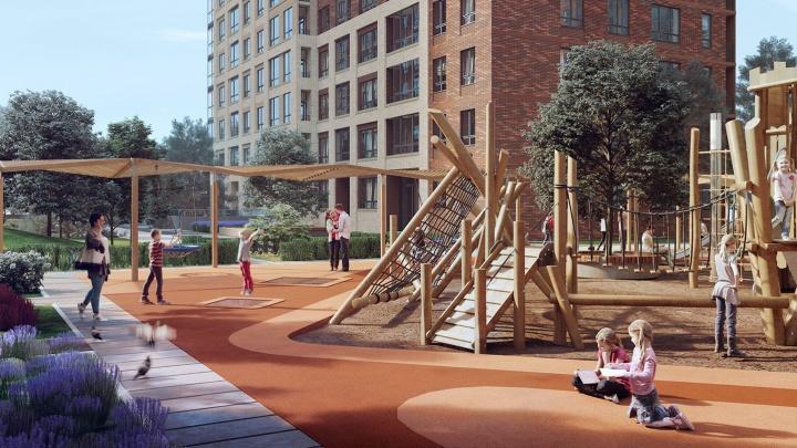 Своя площадка для собак и помывочная: в новом жилом комплексе на «Октябрьской» будет комфортно всем