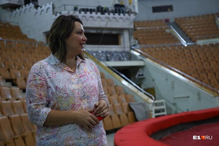 До переезда в Екатеринбург Тамара Бортникова возглавляла сразу два цирка